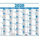 Calendrier des concours 1er semestre 2020