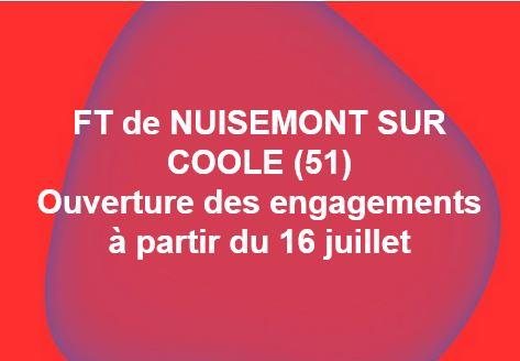 FT de NUISEMONT SUR COOLE (51)