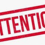 TAN  DU 81-82 ESCATALENS  Samedi 19 septembre 2020 EST ANNULÉ  (suite arrêté préfectoral) MERCI DE VOTRE COMPRÉHENSION