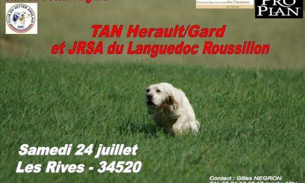 TAN (30-34) ET JRSA SAMEDI 24 JUILLET 2021