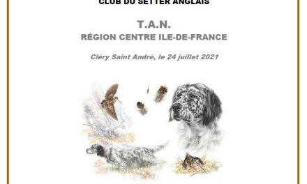 TAN RÉGION CENTRE ÎLE-DE-FRANCE SAMEDI 24 JUILLET 2021