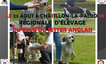 RÉGIONALE D'ÉLEVAGE CHALILLON LA PALLUD (01)