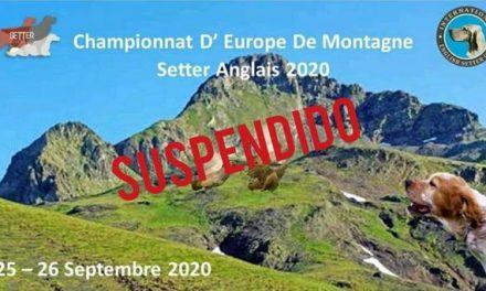 CHAMPIONNAT D'EUROPE MONTAGNE ANNULÉ